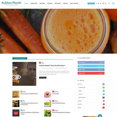 Juliano Pimentel - Portal em Wordpress