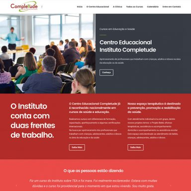 Clínica Completude - Site em Wordpress